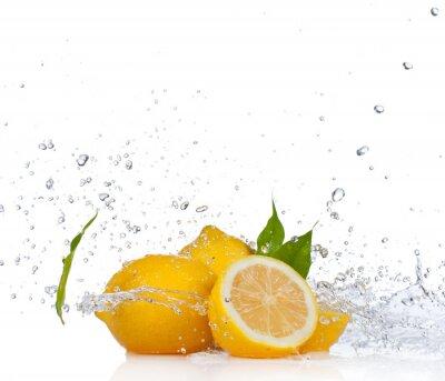Fototapeta Świeże owoce, na białym tle