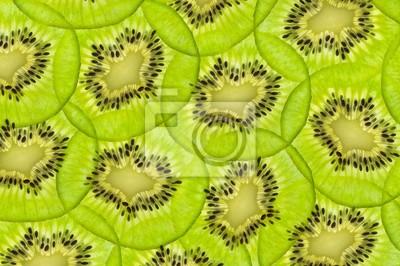 świeże soczyste owoce kiwi