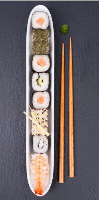 Fototapeta Świeże sushi