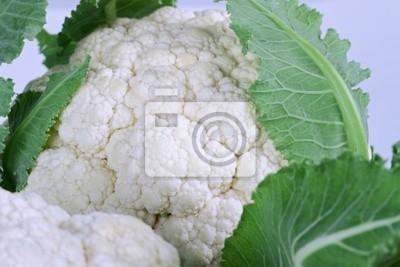 Fototapeta Świeże warzywa kalafior bliska