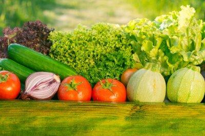 Fototapeta świeże warzywa organiczne