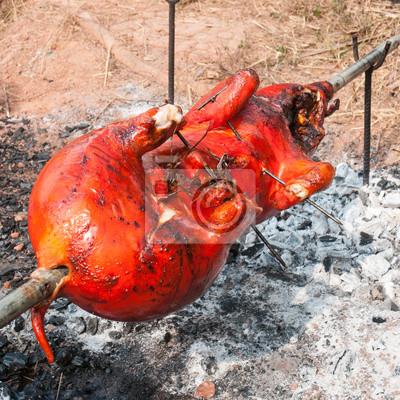 świnia z grilla