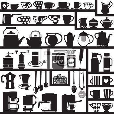 Sylwetki związane z kawy i herbaty