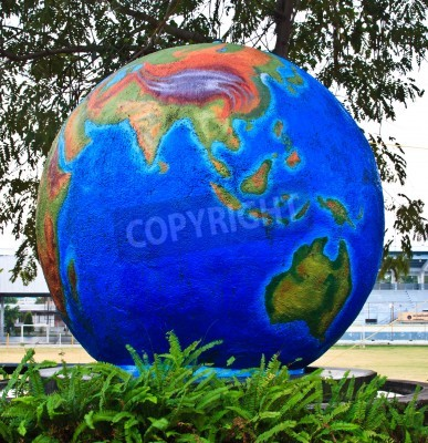 Fototapeta Symbol ochrony środowiska