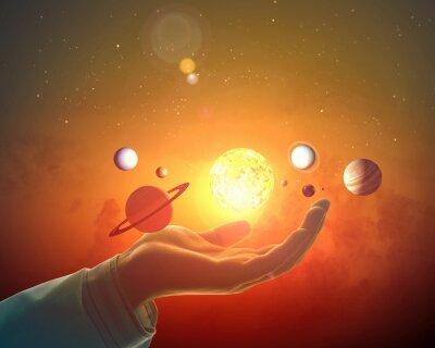 Fototapeta System Sun