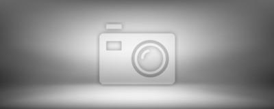 Fototapeta szare tło, czarno-szara abstrakcyjna ściana i pokój studio, może być używany przedstawić swój produkt