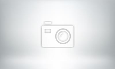 Fototapeta Szare tło studio lub tło 3D lightbox pokoju