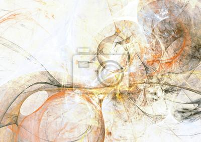 Szary i żółty kolor wzór grunge. Streszczenie artystyczny starodawny tło. Nowoczesne futurystyczne malarstwo tekstury dla kreatywnego projektowania graficznego. Fraktalna grafika