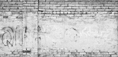 Fototapeta szary mur z cegły