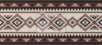 Fototapeta Szczegółowe Maroon Tradycyjna ludowa Sadu Arabian Dłoń Weaving Patte