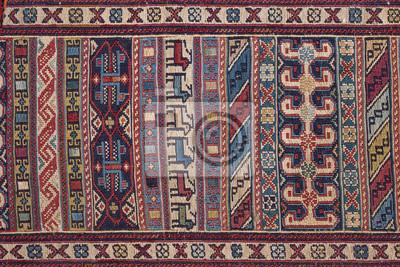 Fototapeta Azjatyckie Patchwork Dywan W Stambule W Turcji