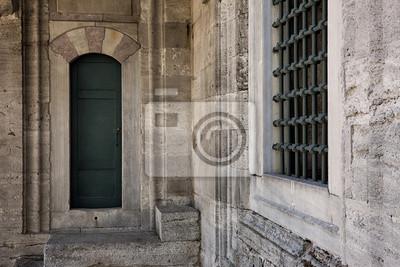 Szczegóły z (Błękitny Meczet Sulejmana w Stambule)