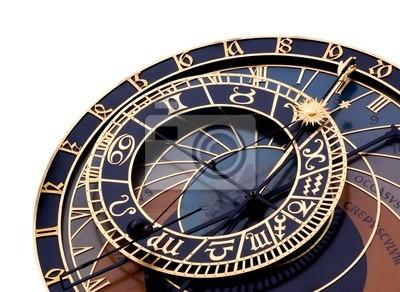 Fototapeta Szczegóły zegar astronomiczny