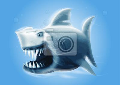 szczęki rekina