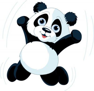 Fototapeta Szczęśliwa Panda