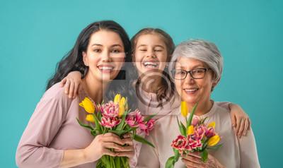 Fototapeta Szczęśliwego dnia kobiet