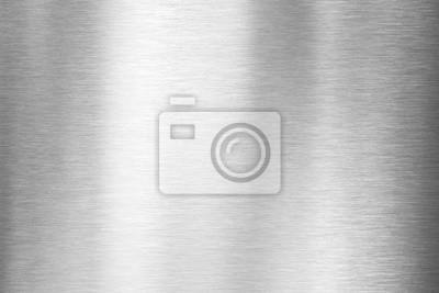 Fototapeta Szczotkowana metalowa płyta