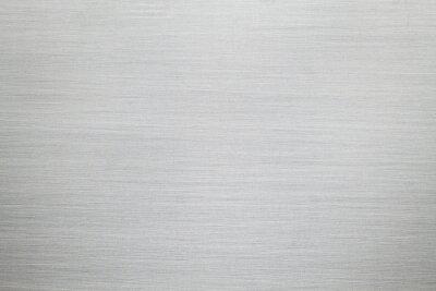 Fototapeta Szczotkowane aluminium lub stal - srebrne tło lub tekstura