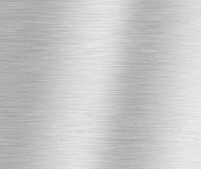 Fototapeta szczotkowane srebro metaliczne tło