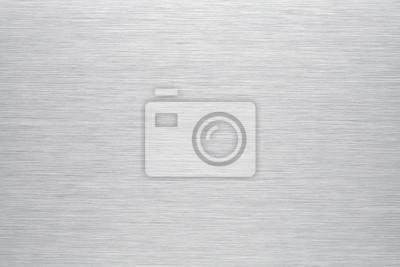 Fototapeta Szczotkowanego aluminium tła lub tekstury