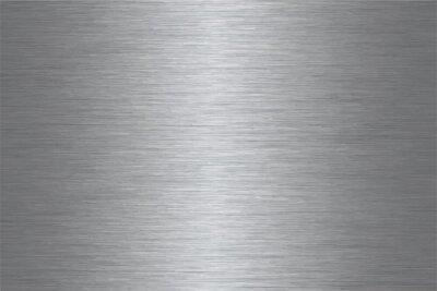 Fototapeta Szczotkowany wzór wektora ze stali nierdzewnej