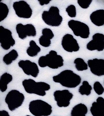 Fototapeta sztuczne, czarno- białe futro