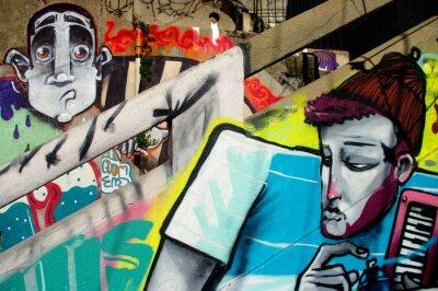 Fototapeta sztuka ulicy