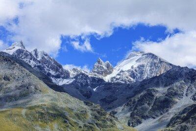 Fototapeta Szwajcarskich górach