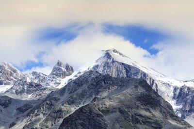 Fototapeta Szwajcarskich szczytów i lodowców