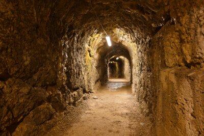 Fototapeta Tajny tunel w zamku Kufstein - Austria