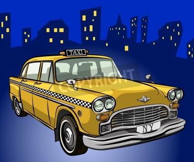 Fototapeta taksówka