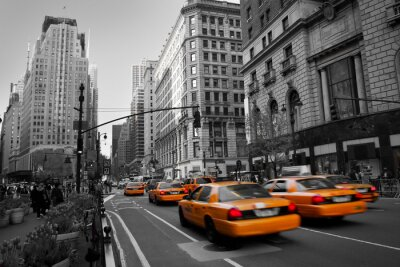Fototapeta Taksówki na Manhattanie