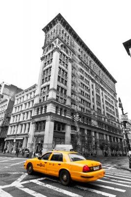 Fototapeta Taksówki na SOHO ulic, Nowy Jork, USA
