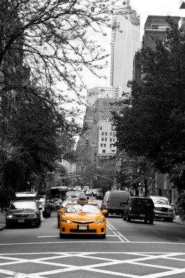 Fototapeta Taksówki na ulicach Soho, Nowy Jork, USA