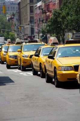 Fototapeta taksówki new-york