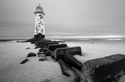 Fototapeta Talacre lighthouse Point of Ayr
