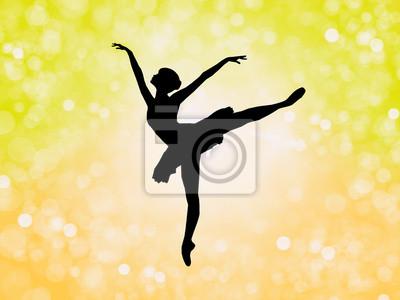 Fototapeta tancerka baleriny