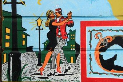 Fototapeta Tango argentyńskie