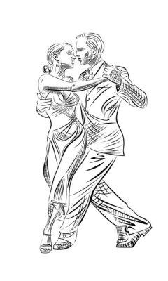 Fototapeta tango i taniec