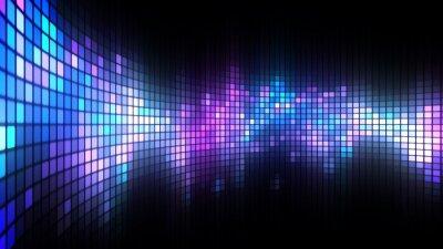 Fototapeta Taniec Światła tle ściany