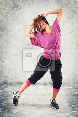 Fototapeta Tanz Frau Bewegung