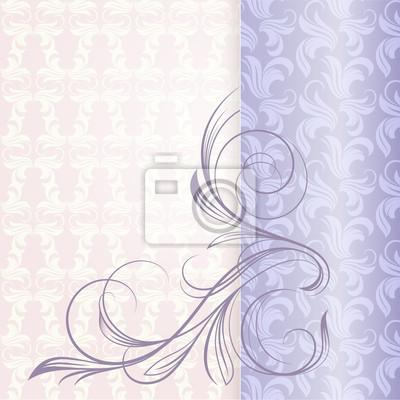 Tapeta i kwiatów curl