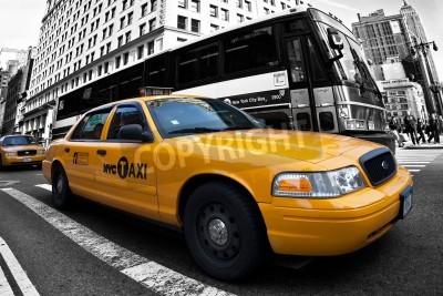 Fototapeta Taxi