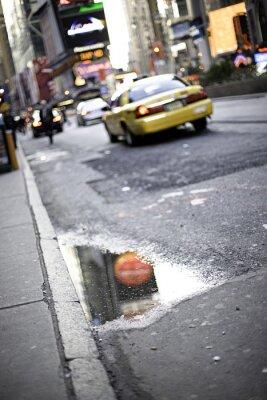 Fototapeta Taxi NYC