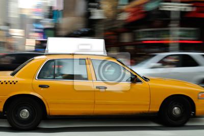 Fototapeta Taxi Top Advertising