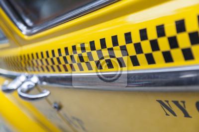 Fototapeta Taxi w Nowym Jorku