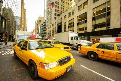 Fototapeta Taxis à New York