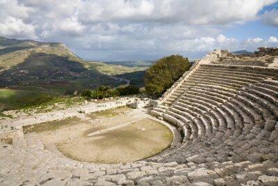 Fototapeta Teatr grecki, Segesta