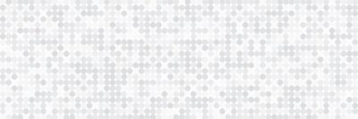 Fototapeta Technology banner design with white and grey arrows. Abstract geometric vector background with dot circle pattern for wide banner