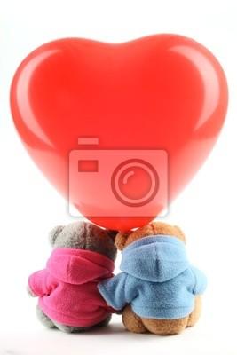 Teddy bear zabawki z balonu